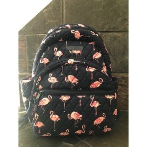 Vera Bradley Essential Compact Backpack - Flamingo